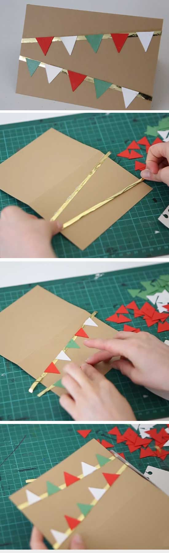 18 DIY Ideas and Tutorials to Create Your Very Own Christmas Card