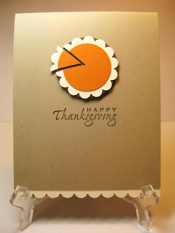 18 DIY Thanksgiving Greeting Cards