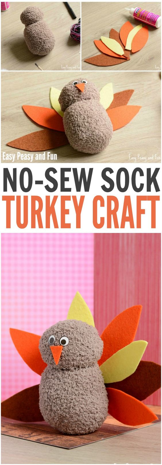 2 Easy Thanksgiving Crafts To Make
