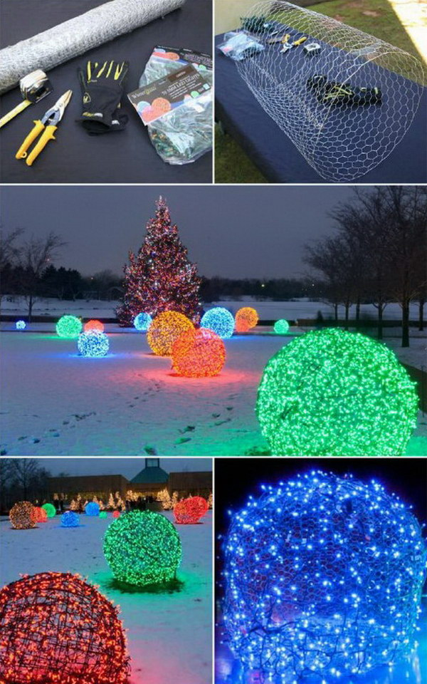 Outdoor Christmas Decorations Ideas Diy.30 Amazing Diy Outdoor Christmas Decorating Ideas And