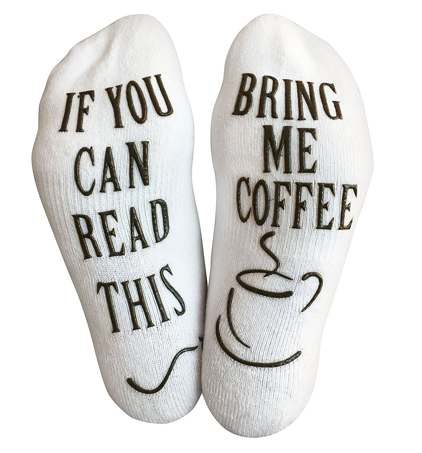 20 Luxury Cotton Bring Me Coffee Funny Socks