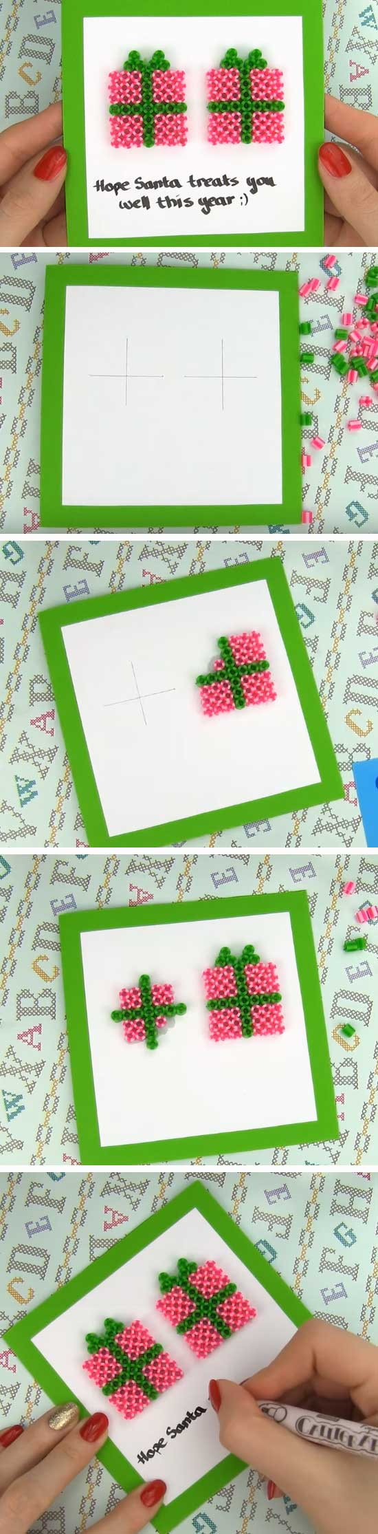 21 DIY Ideas and Tutorials to Create Your Very Own Christmas Card
