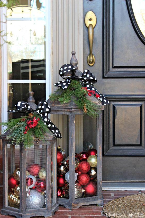 22 Amazing DIY Outdoor Christmas Decorating Ideas and Tutorials