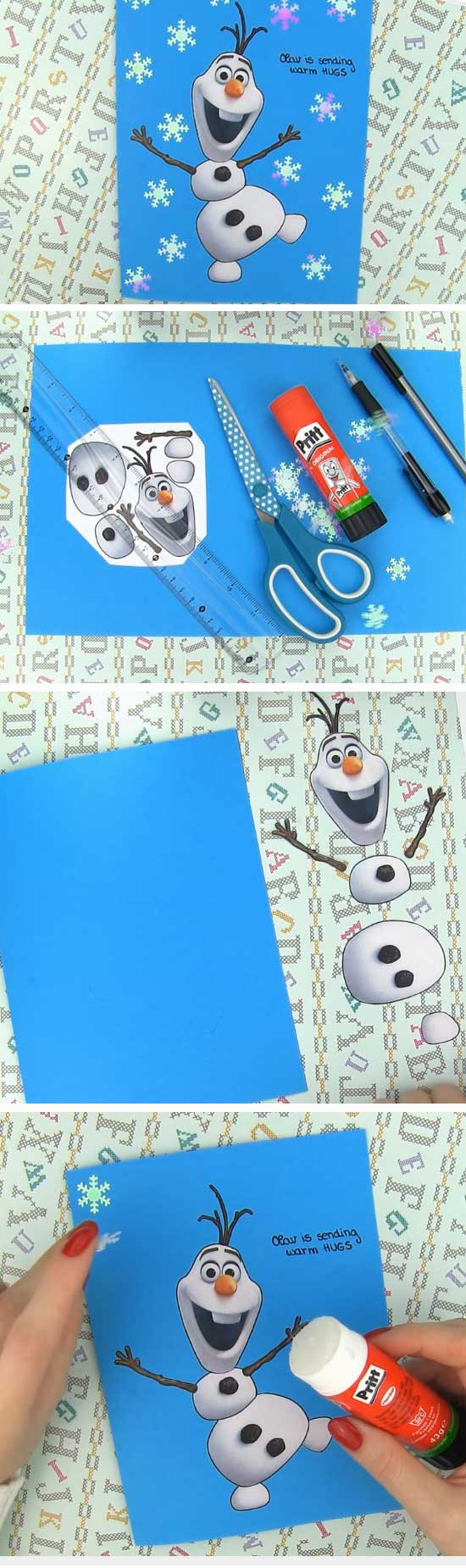 23 DIY Ideas and Tutorials to Create Your Very Own Christmas Card