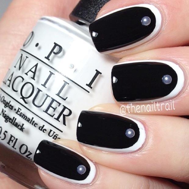 23 Half-Moon Nails