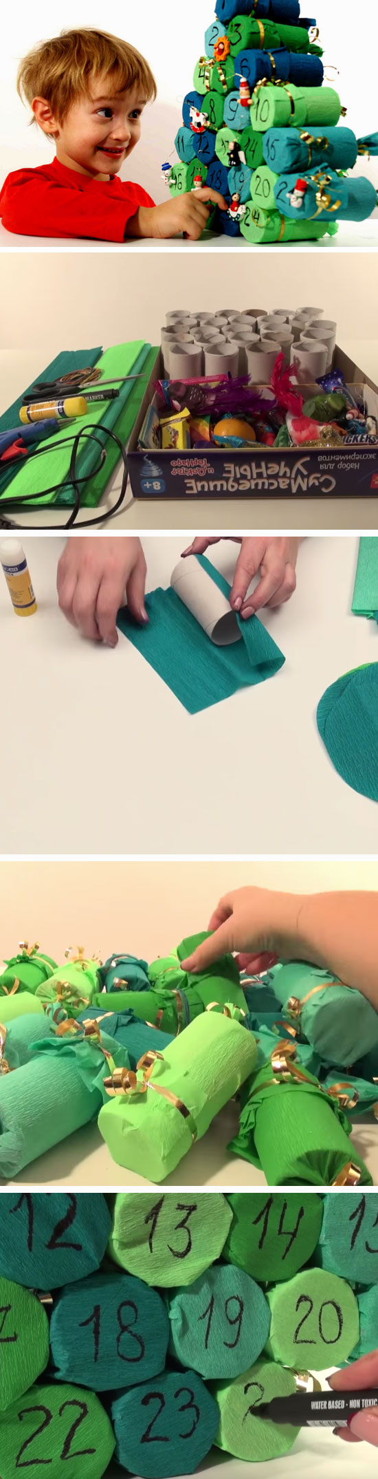 24 Super Easy DIY Christmas Crafts That Kids Can Make