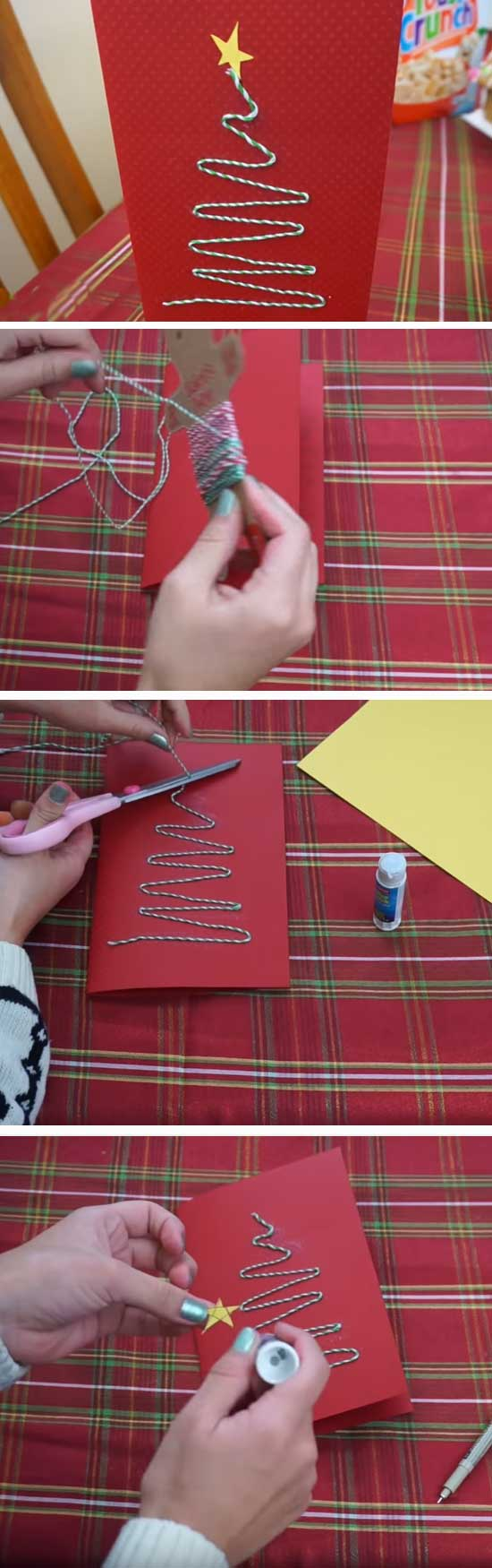 26 DIY Ideas and Tutorials to Create Your Very Own Christmas Card