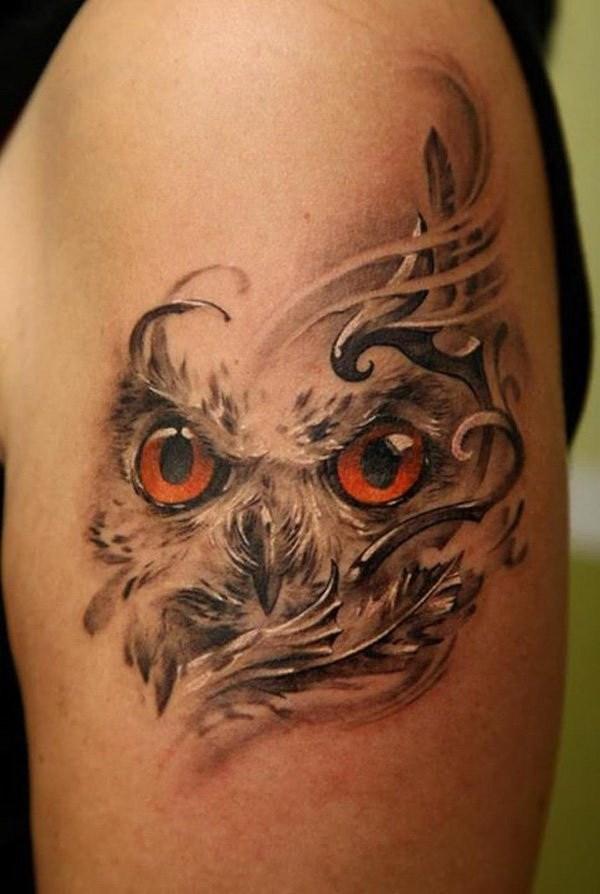 26 Owl Tattoo
