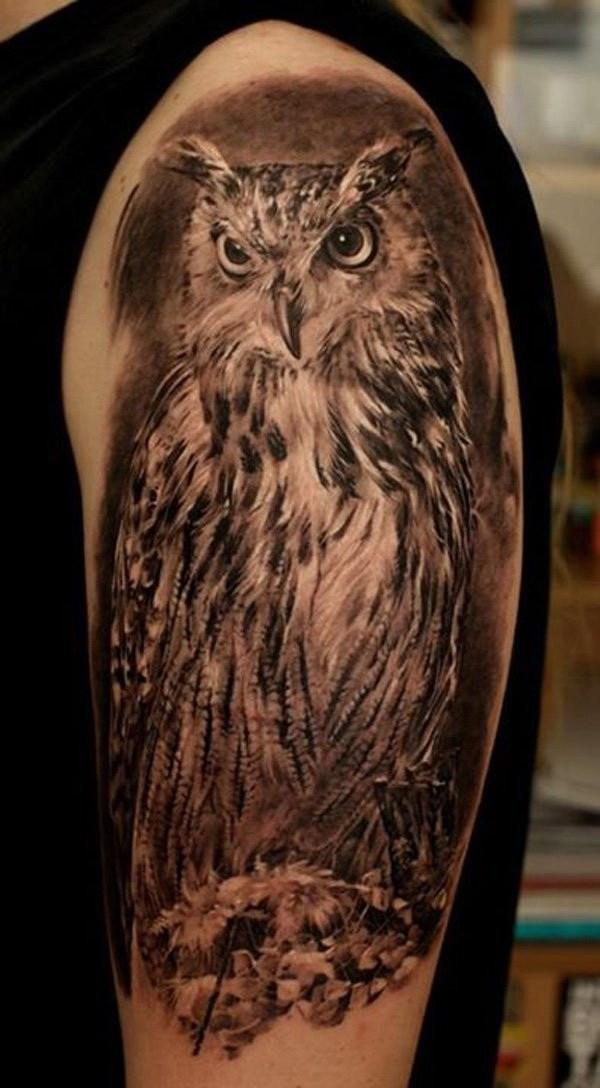 27 Attractive owl tattoo ideas
