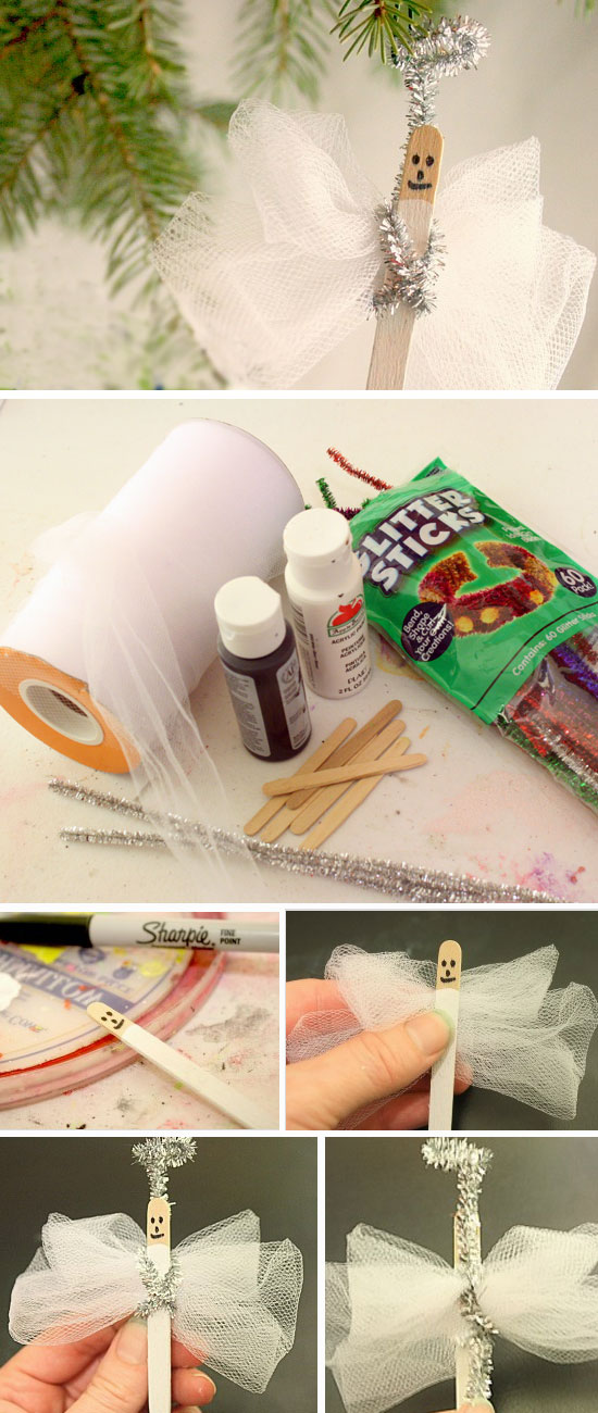 27 DIY Ideas and Tutorials to Recycle Popsicle Sticks for Christmas