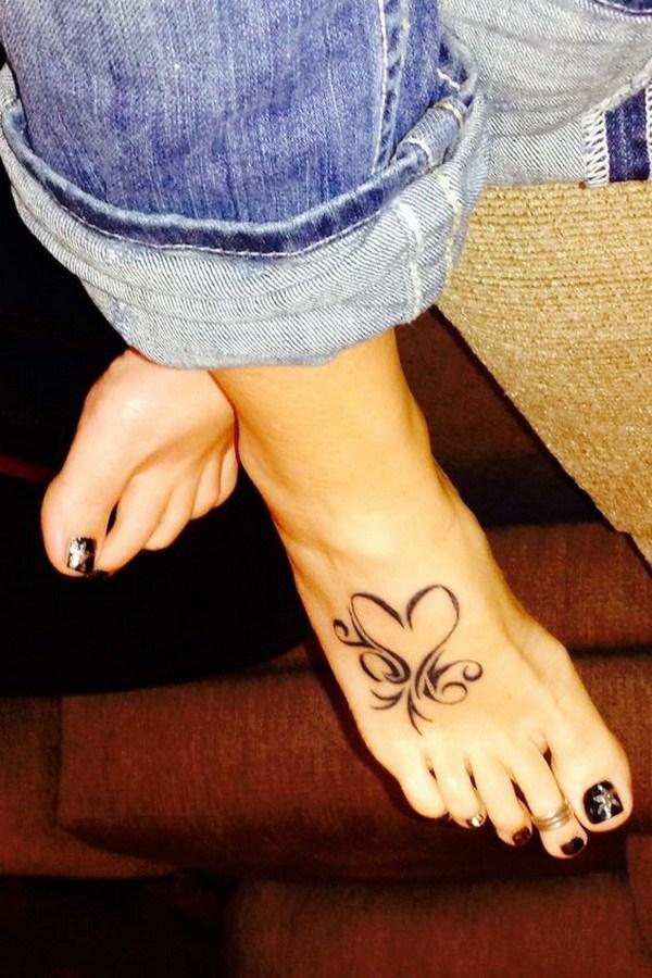 27 Heart Tattoo