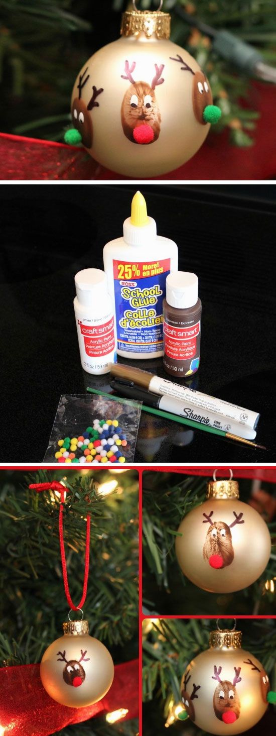 28 Super Easy DIY Christmas Crafts That Kids Can Make