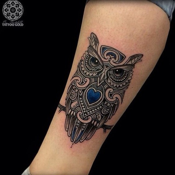 3 Attractive owl tattoo ideas