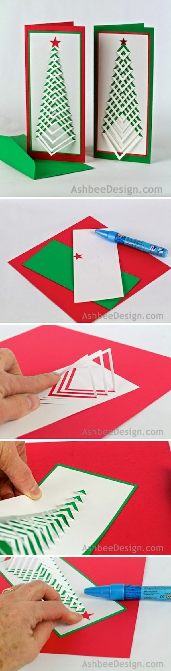 3 DIY Ideas and Tutorials to Create Your Very Own Christmas Card