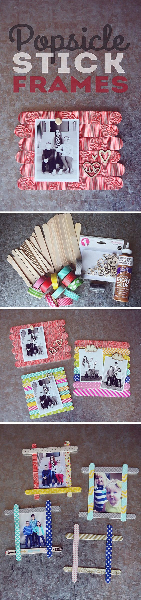 3 DIY Ideas and Tutorials to Recycle Popsicle Sticks for Christmas