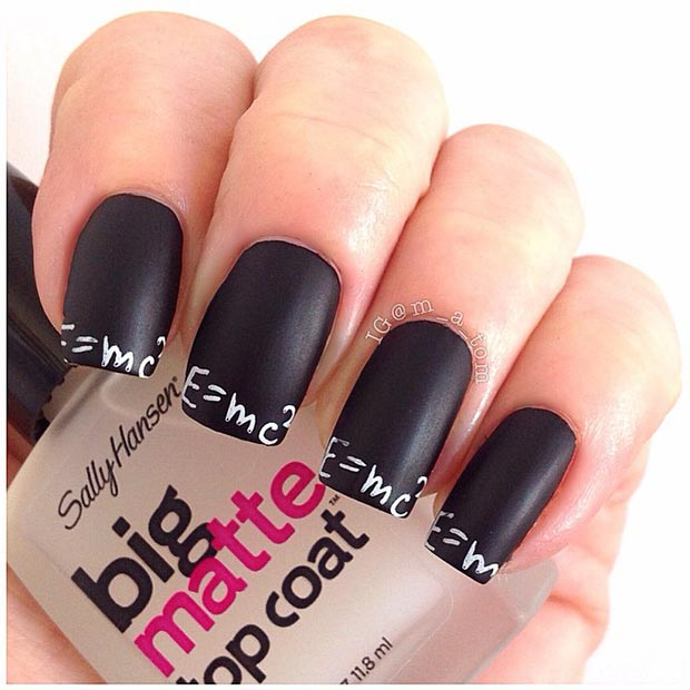 50 Best Black And White Nail Designs Page 31 Foliver Blog