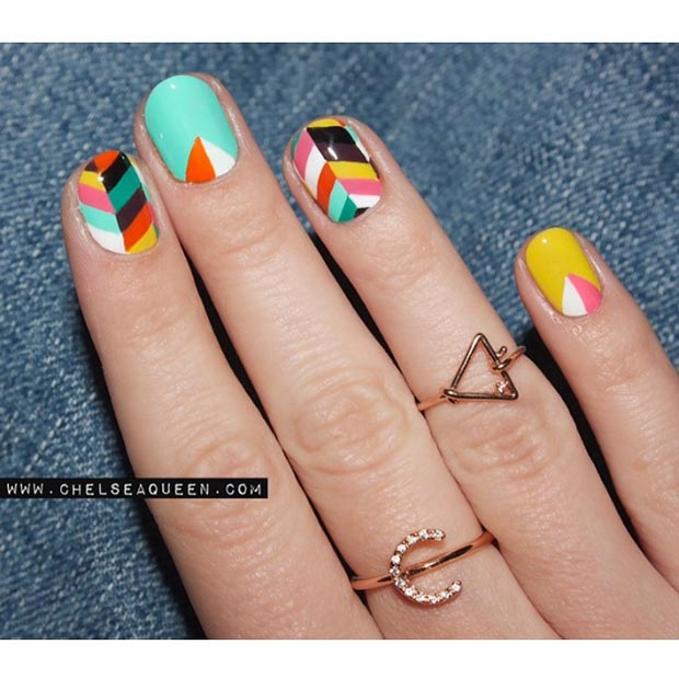 80 Gorgeous Nail Designs For Short Nails