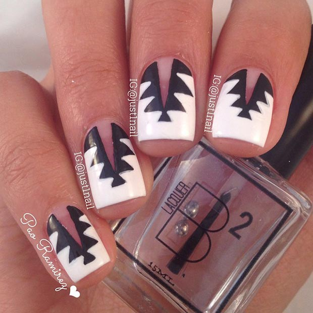 35 Spiked Nail Design