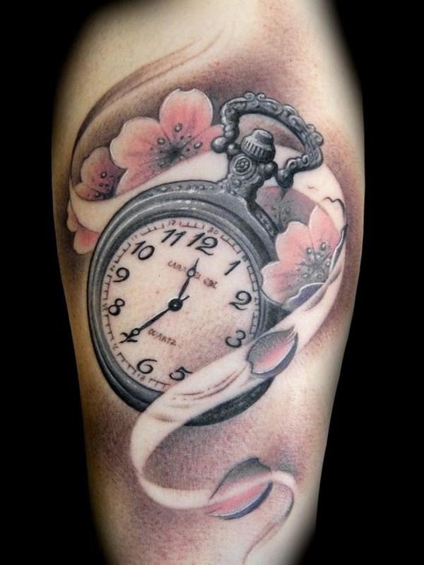 36 Sakura Cherry Blossom Tattoo