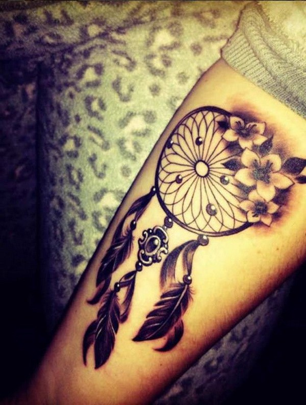 40 Dreamcatcher tattoo design ideas