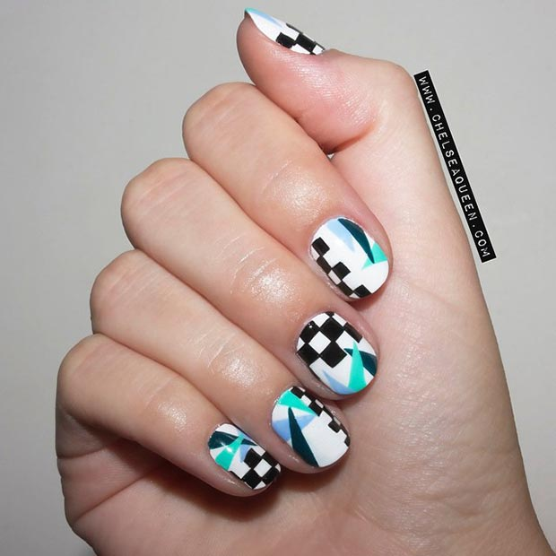 80 Gorgeous Nail Designs for Short Nails – Page 41 – Foliver blog