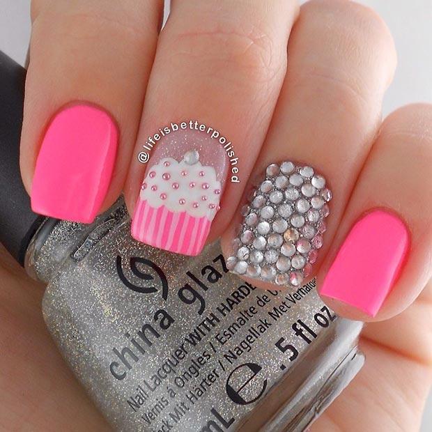80 Nail Designs for Short Nails – Page 44 – Foliver blog