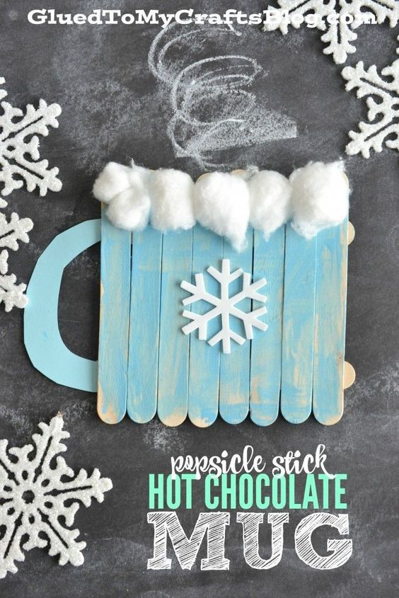 5 DIY Ideas and Tutorials to Recycle Popsicle Sticks for Christmas