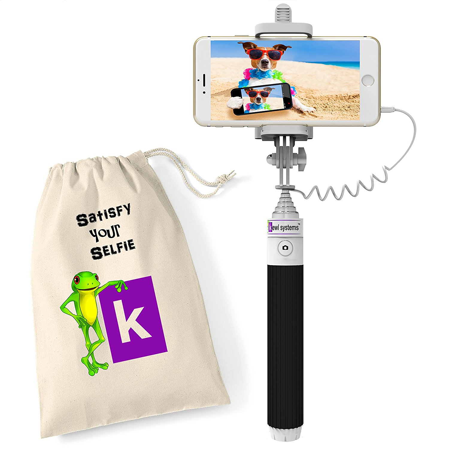 5 Join the Fun with a Compact Selfie Stick Battery-free