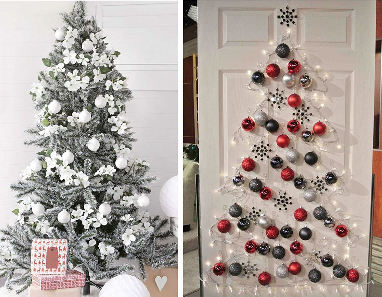 5 KI Store 24ct Christmas Ball Ornaments Shatterproof Christmas Decorations Tree Balls Small for Holiday Wedding Party Decoration