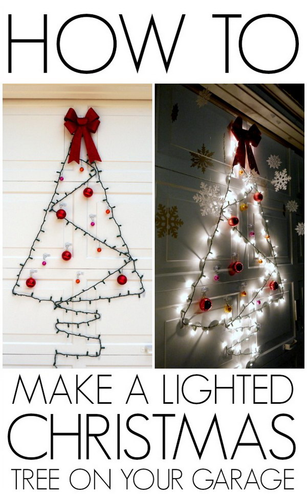 7 Amazing DIY Outdoor Christmas Decorating Ideas and Tutorials