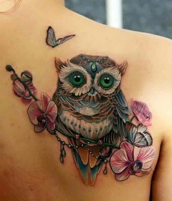 7 Owl tattoo ideas