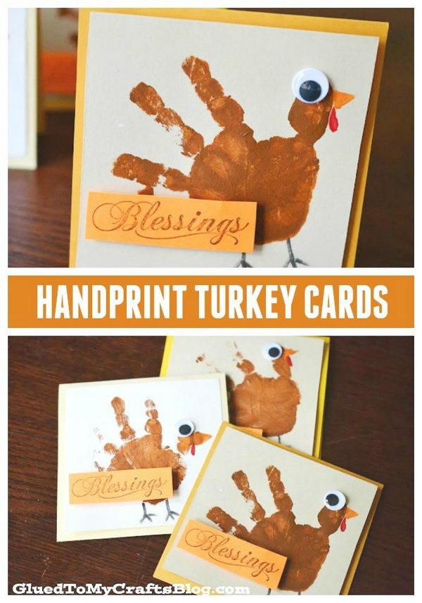 9 DIY Thanksgiving Greeting Cards