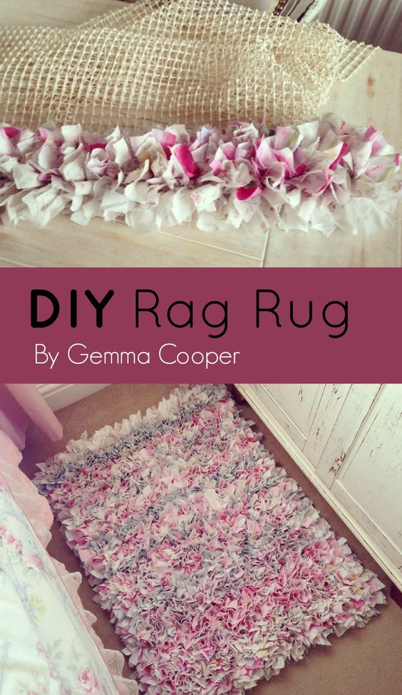 1 Adorable DIY Rug Ideas  and  Tutorials for Kids