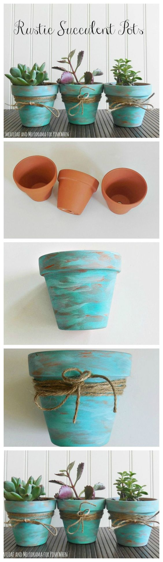1 Awesome DIY Ideas and Tutorials to Decorate Your Terracotta Pots
