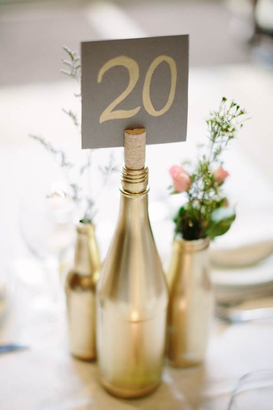 40 Awesome DIY Wine Bottle Centerpieces For Any Table – Foliver blog