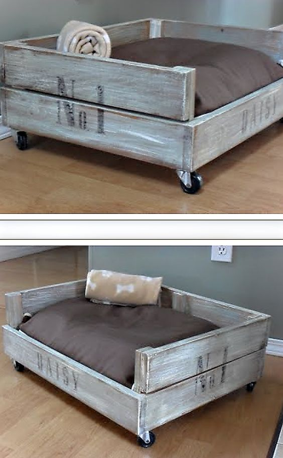 1 Creative DIY Pet Bed Ideas  and  Tutorials