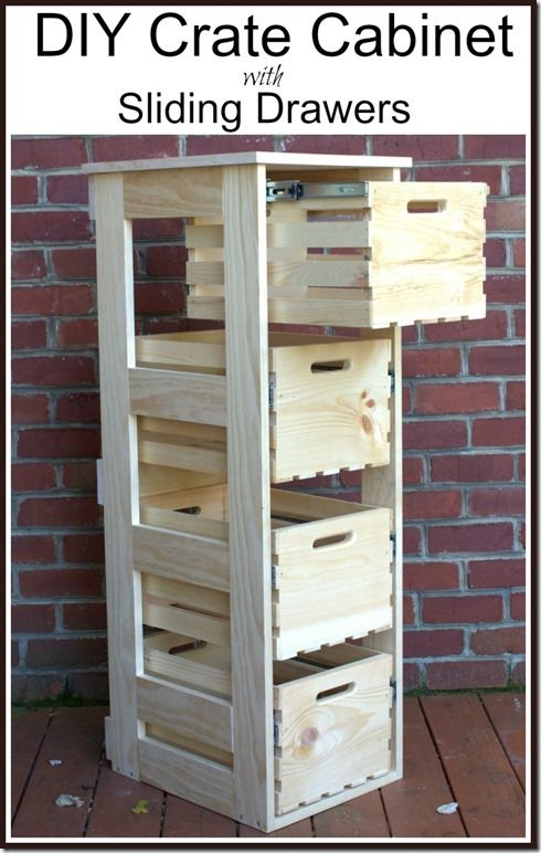 1 DIY Wood Crate Projects With Lots of Tutorials