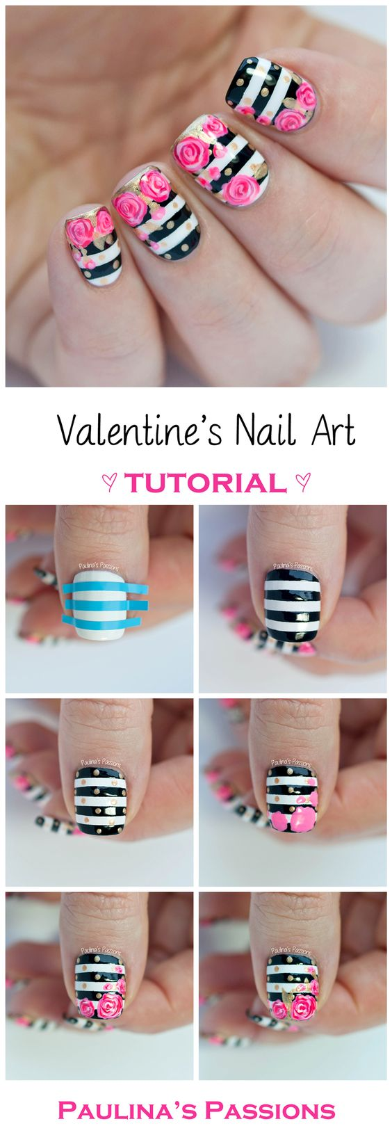 1 Easy and Fun Nail Art Tutorials