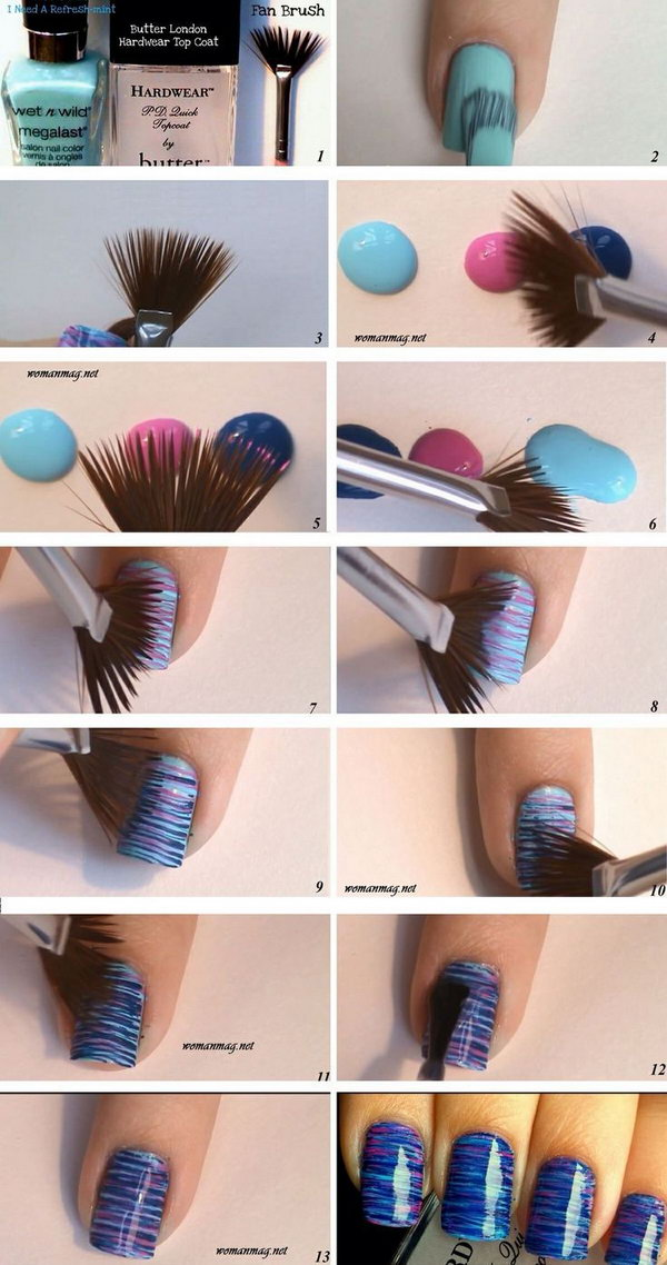 30 Easy and Fun Nail Art Tutorials – Page 10 – Foliver blog