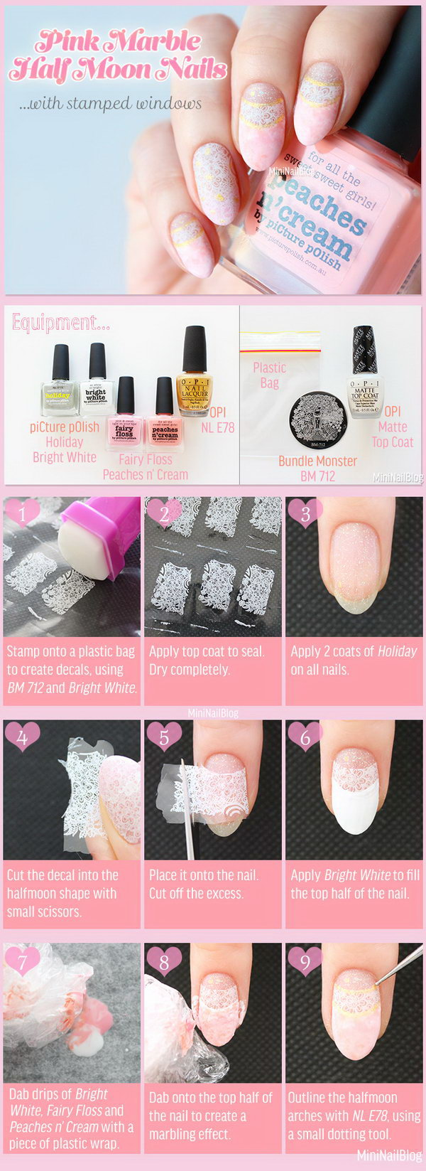 12 Easy and Fun Nail Art Tutorials