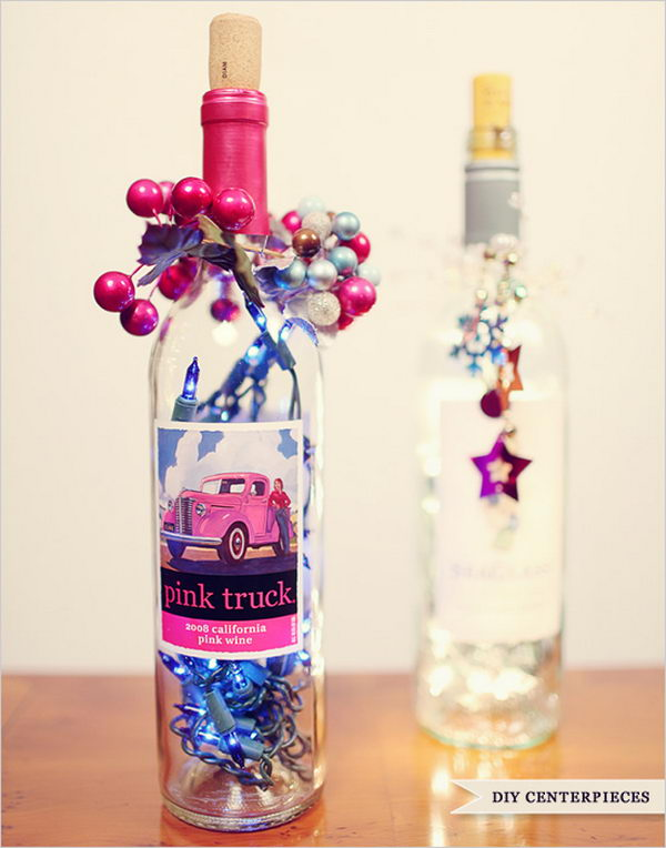 13 Awesome Wine Bottle Centerpieces For Any Table
