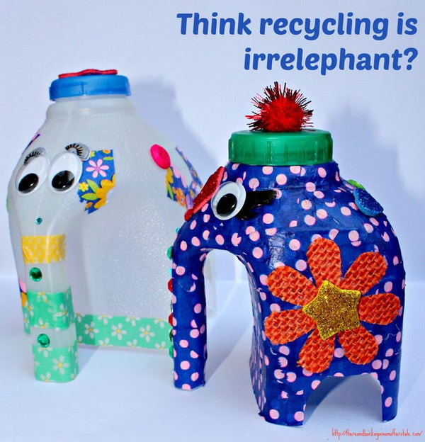 25 Fun And Creative Crafts Made Out Of Plastic Bottles Page 13