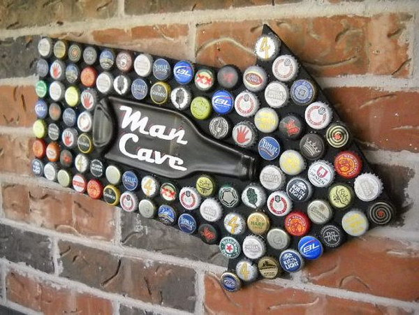 14 Awesome Ideas and Tutorials to Craft with Bottle Caps