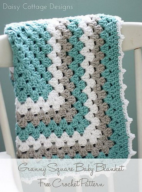14 Beautiful Crochet Blankets with Free Patterns