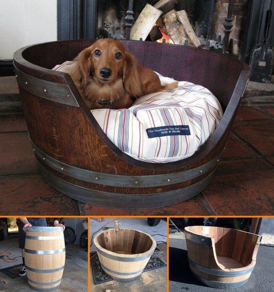 14 Creative DIY Pet Bed Ideas  and  Tutorials
