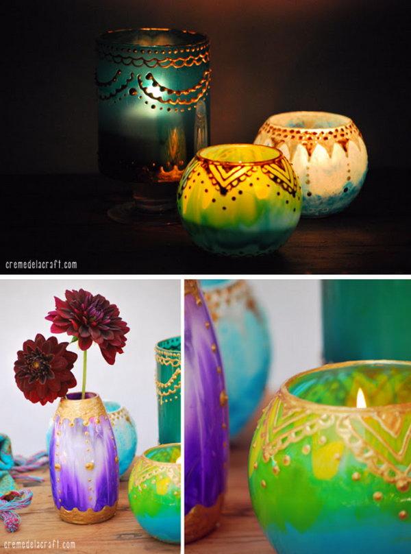 30 Diy Candle Holder Ideas Tutorials Page 15 Foliver Blog