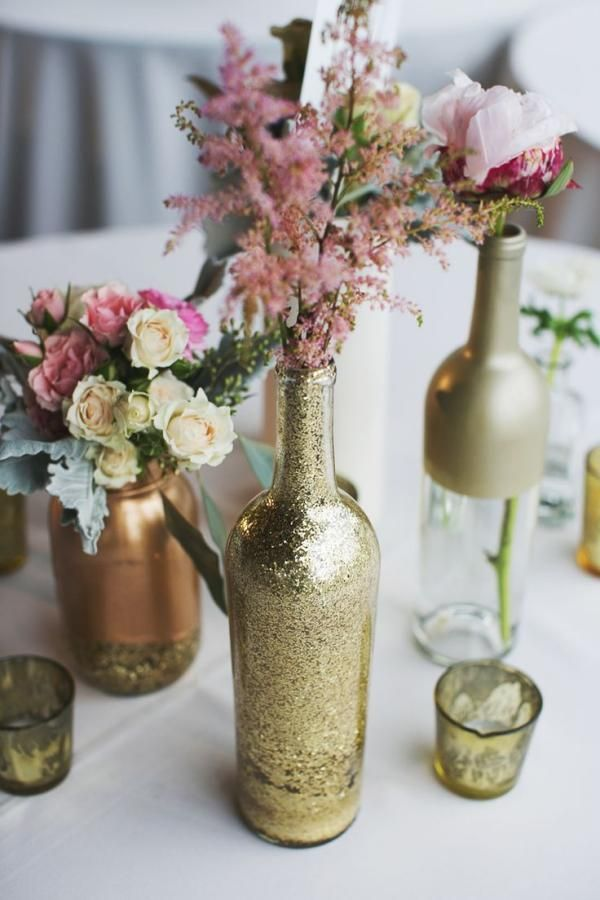 17 Awesome Wine Bottle Centerpieces For Any Table