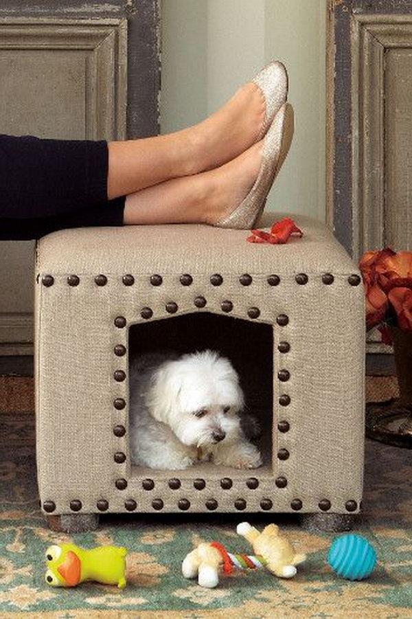 17 Creative DIY Pet Bed Ideas  and  Tutorials