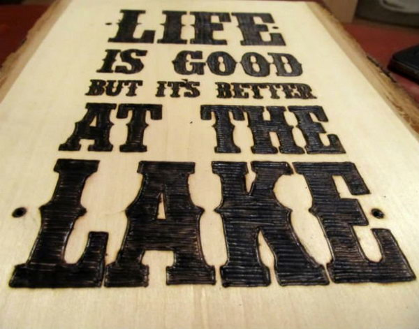 17 DIY Wood Burning Art Project Ideas and amp; Tutorials