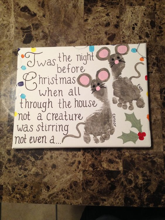 19 Amazing Canvas Painting Ideas for Christmas